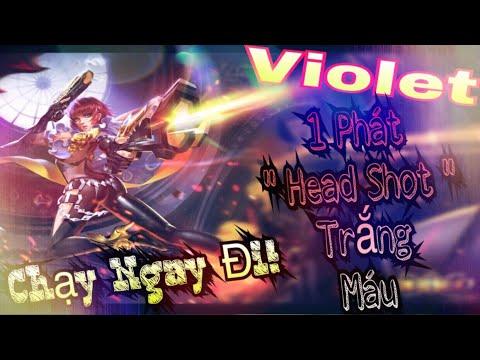 😱Chạy Ngay Đi😱 Violet kìa! Violet khi nào nên dùng Áo Choàng Băng, khi nào nên dùng Phúc Hợp Kiếm?