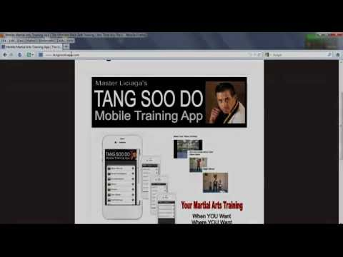 Tang Soo Do Mobile Training Application | A