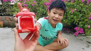 Trò Chơi Nhà Nhỏ Xe Buýt ❤ ChiChi ToysReview TV ❤ Đồ Chơi Trẻ Em Baby Fun
