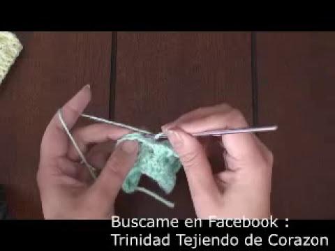 Crochet : Punto Tridimensional