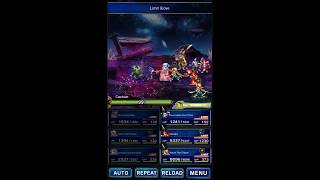 FFBE Limit Bursts - 5-star Strange Gourmand Quina (Limit Glove)
