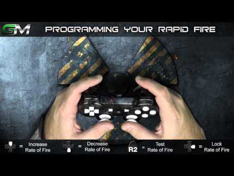 GamerModz PS3 SPS-X3 Ver. 2.0 - Rapid Fire Modded Controller Tutorial