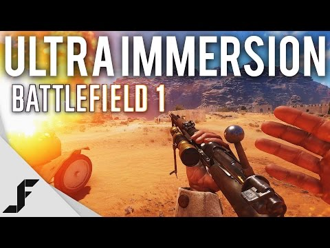 ULTRA IMMERSION - Battlefield 1 Real Life Mode Commentary