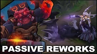 Lissandra and Ornn PASSIVE reworks coming soon in 8.23