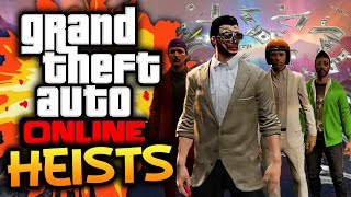 GTA 5: Online - Heists Funtage! - (GTA 5 Funny Moments w/ Robust)