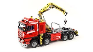 Ô tô Lego   Lắp Ráp Xe Cẩu LEGO   Lắp Ráp Xe Ô Tô Cẩu   Lego Technic 8258 Crane Truck