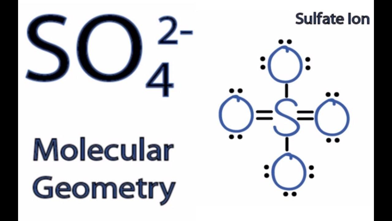 Xeo4 Molecular Geometry SO4 2- Molecular Geometry