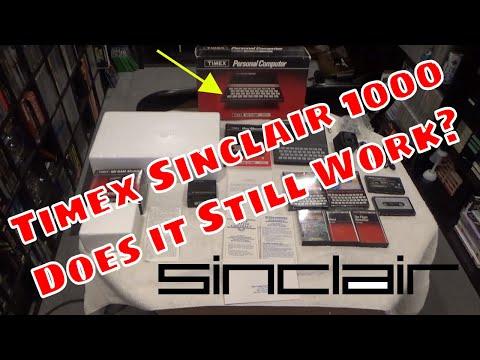 Timex Sinclair 1000 Does it Still Work?