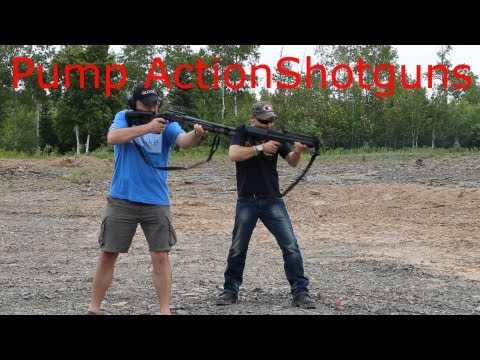 Pump Action Shotgun Canadian style