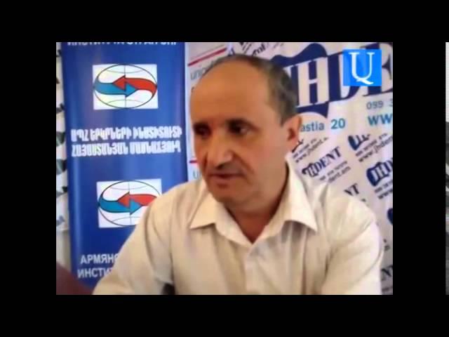 Աշոտ Մանուչարյանը դատապարտեց ոստիկանապետի հայտարարությունը