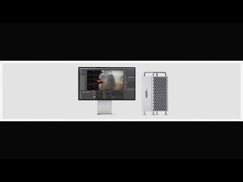 אפל מציגה את המק פרו החדש
