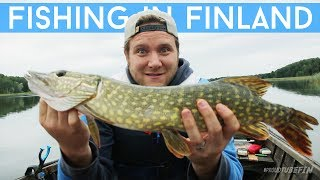 Fishing Finnish style