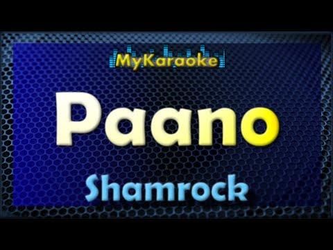 Paano - Karaoke version in the style of Shamrock