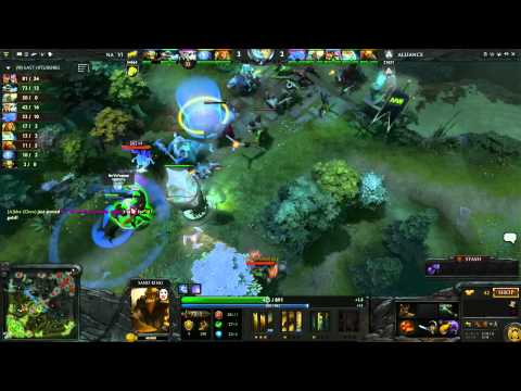 Na'Vi vs Alliance UB Round 3A 1 of 3   Russian Commentary