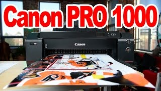 """Canon imagePROGRAF PRO-1000 """"Real World Review"""": Worth $1300?"""