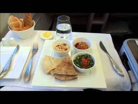Qatar Airways flight Business Class Rome - Doha