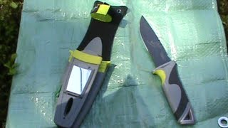 The Les Stroud Ultimate Mountain Survival Knife - and my mods!!