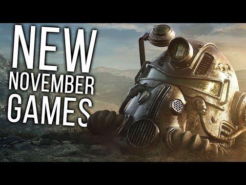 Top 10 NEW November Games of 2018