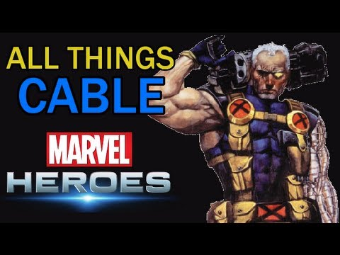 Marvel Heroes: All things Cable - All powers, Skills, Ultimate Power, Costumes, build and more!
