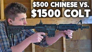 $500 Chinese AR15 vs $1500 Colt Milspec AR