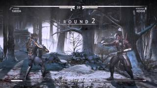 Takeda vs Kenshi : Mortal Kombat X