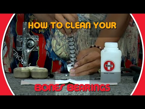 BONES BEARINGS - How To Clean Your Bearings