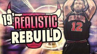 JABARI PARKER! 2019 REALISTIC BULLS REBUILD! NBA 2K18