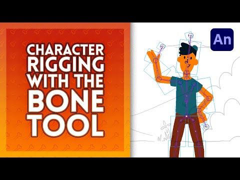 Character Rigging in Adobe Animate