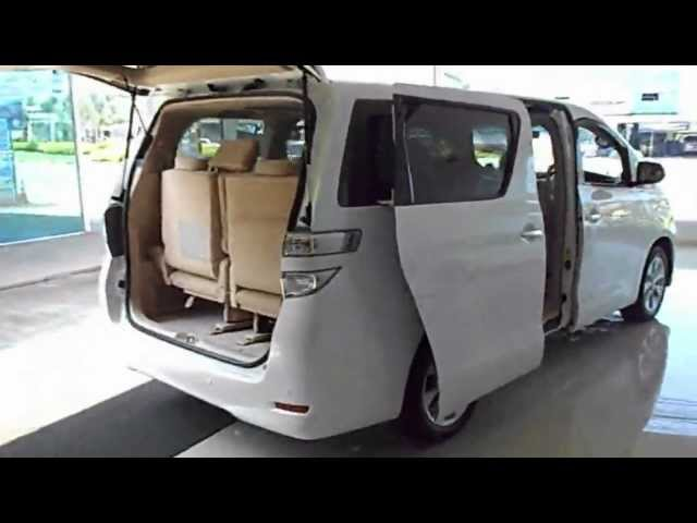 New Toyota Vellfire 2012 Stock# T101 Classic car design Pattaya