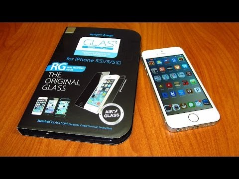 Unboxing / Review - Spigen GlassT Tempered Glass Screen Protector For iPhone 5S / 5C / 5