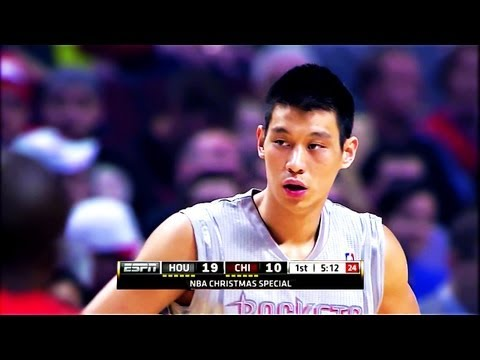 Jeremy Lin 林書豪-2012-12-25火箭vs公牛 Houston Rockets vs Chicago Bulls