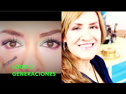Look 2 Generacions, Mamá e Hija / Mother and Daughter Makeup Tutorial