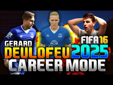 FIFA 16 | GERARD DEULOFEU IN 2025!!! (CAREER MODE)