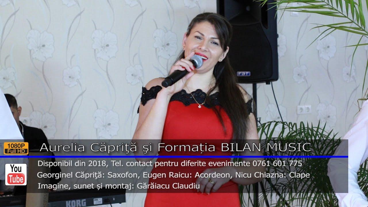Aurelia Caprita si Formatia BILAN MUSIC   Colaj ASCULTARE LIVE 2017   Contact 0761 601 775