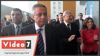 وزيرا التعليم العالى والاتصالات يتفقدان مشروعات الجامعات بالقرية الذكية