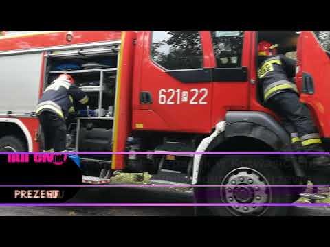 Wypadek W Kotwasicach  Citroen Berlingo Uderzył W Drzewo