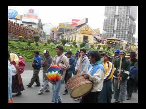 Moceñada por las calles de La Paz