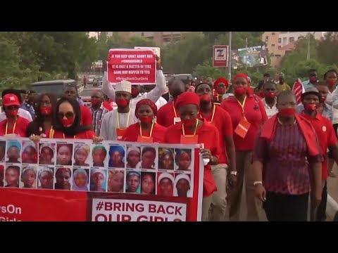 Nigeria marks four years since Chibok girls were kidnapped