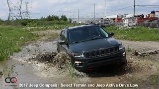 2017-2018 Jeep Compass Review | Jeep Active Drive LOW  | Part 7/10