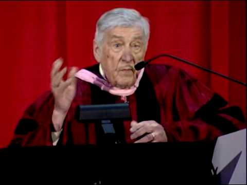 2009 College of Fine Arts Commencement Address: Gunther A. Schuller