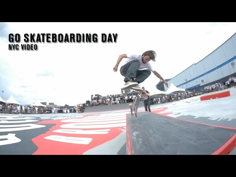 Go Skateboarding Day NYC 2015 Video