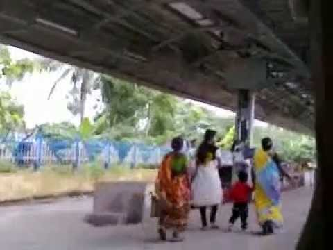 Indian Village Local Train Leaved The Platform video