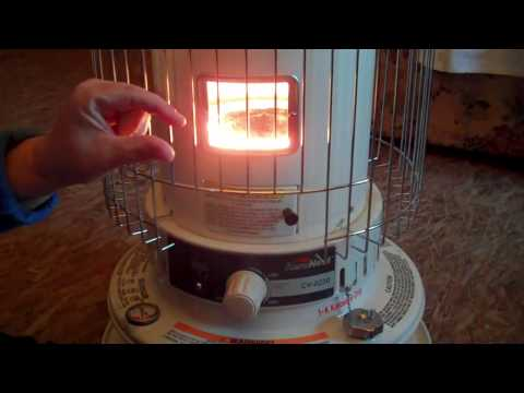 Becky's Farm TV: Kerosene heater