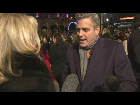 George Clooney jokes that Matt Damon is a