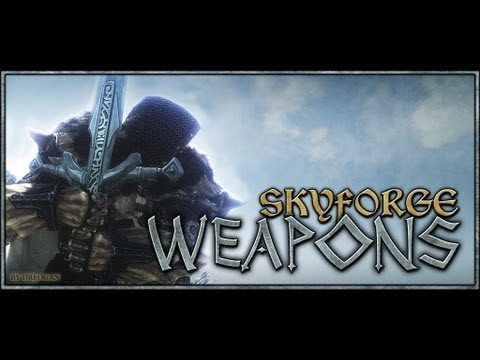 Skyrim Mods Review 2: Better Shaped Weapons, Skyforge Weapons, Sharpshooters ENB, Enhanced Blood.