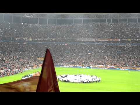 Galatasaray  realmadrid ceremony 09 04 2013