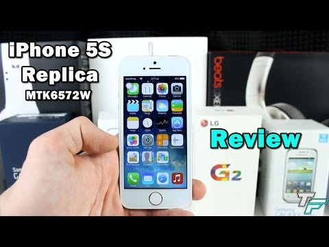 iPhone 5S Replica Review (MTK6572W) - DHgate