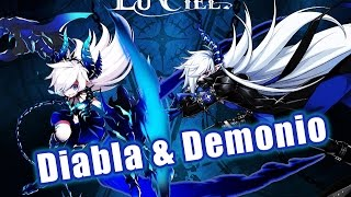 [Elsword KR] LuCiel's 3rd Job Path :: Diabla/Demonio Showcase