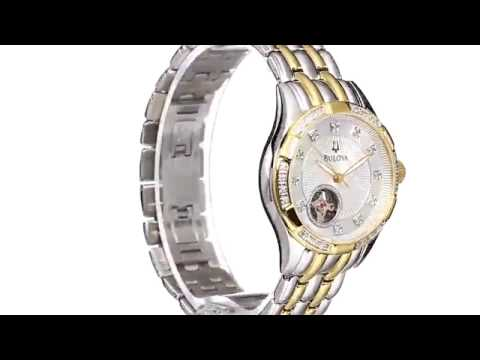 Bulova Women's 98R173 Self Winding Mechanical Watch