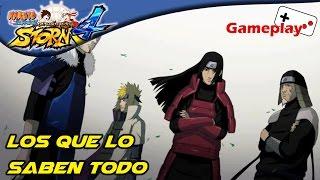 Los que lo saben todo | Naruto Shippuden Ultimate Ninja Storm 4 | Parte 7